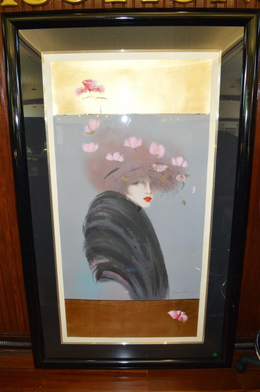 Large Lithograph By Vicky Montesinos