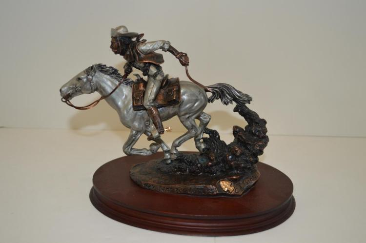 Chris Pardell Bronze Sculpture