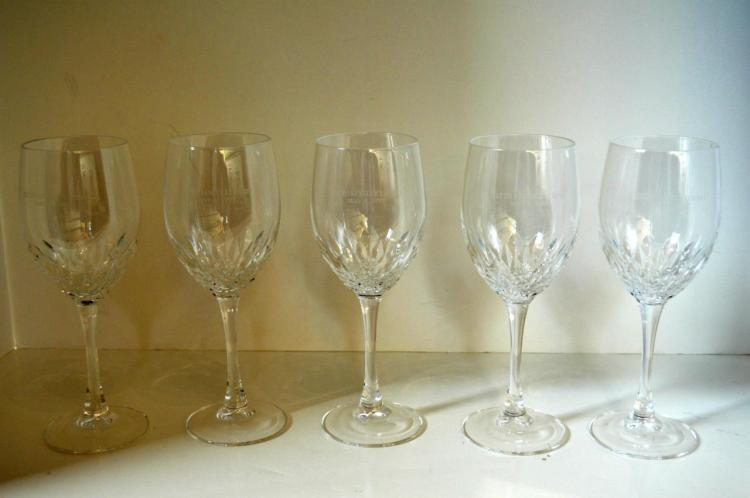 Five Pieces Of Kentucky Derby Stemware