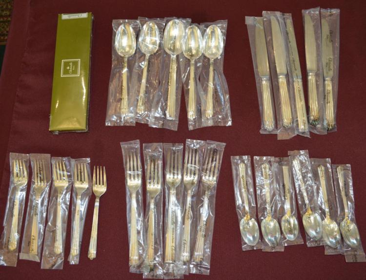 Group Of Cristofle Flatware