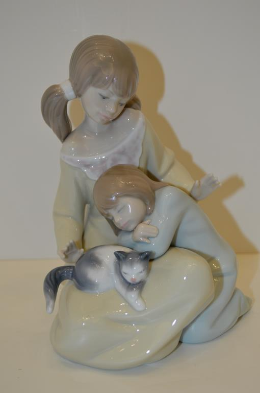 Lladro Figure, Little Sister