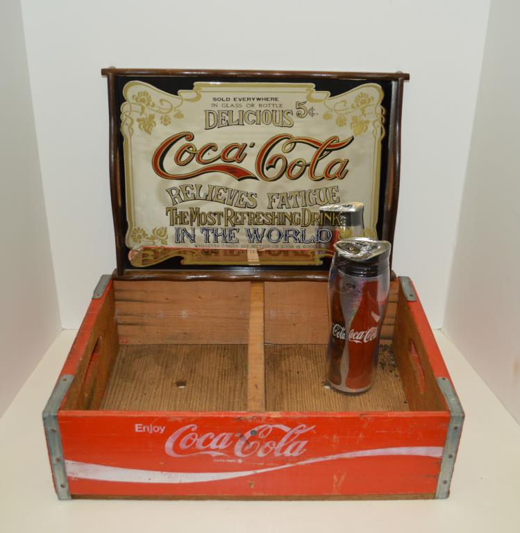 Three Coca-Cola Related Items