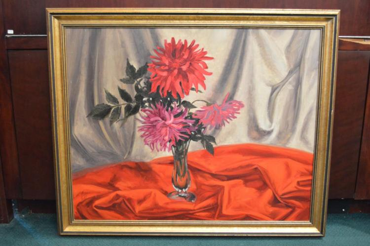 Oil On Board By Harold Lloyd Lyon