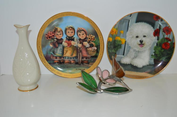 Group of Porcelain and Glass