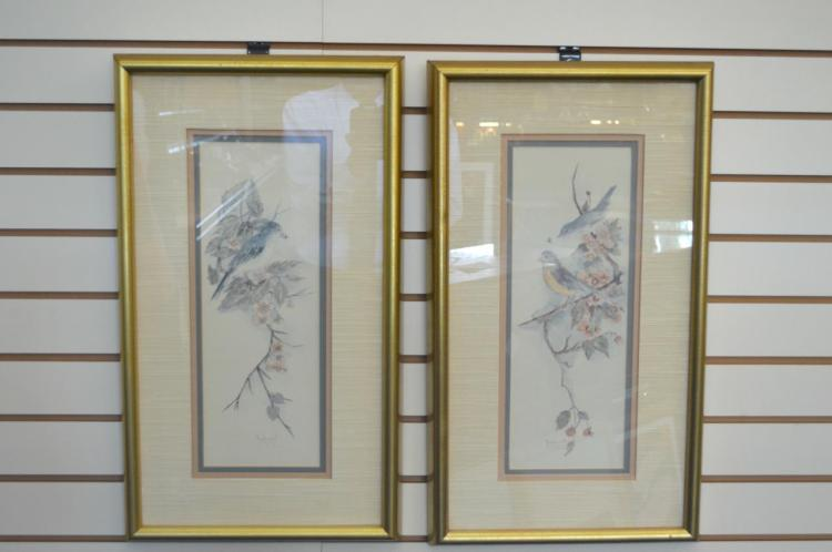 Pair Of Prints By Mary Vincent Bertrand