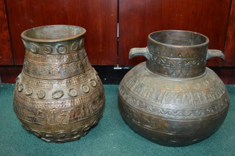 Two Middle Eastern Pots