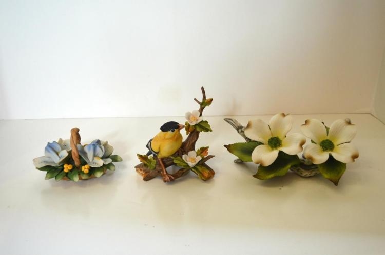 Three Porcelain Figural Groups