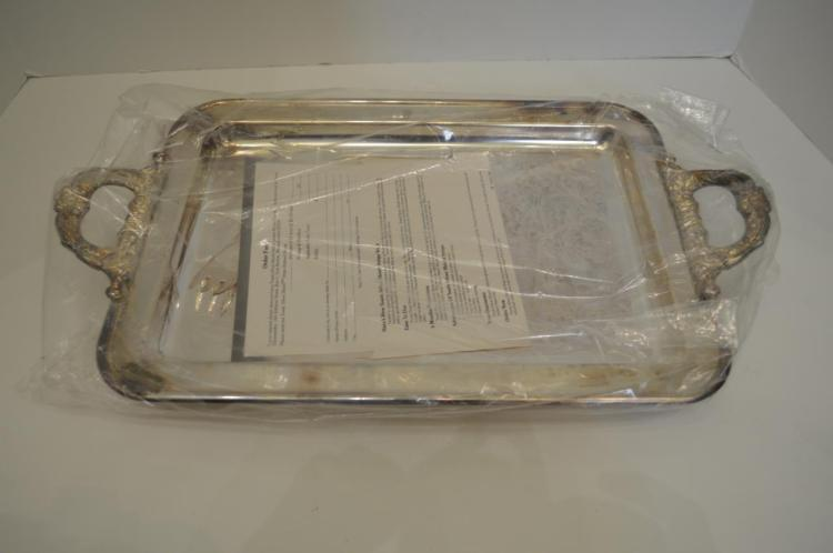 Silver Plate Relish Tray