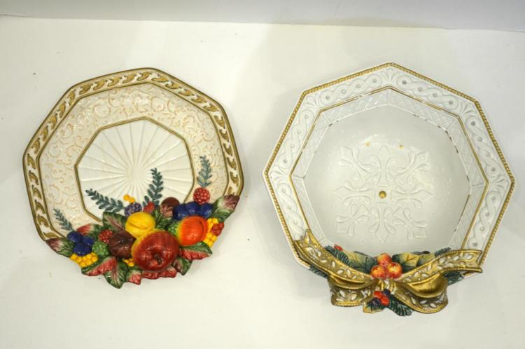 Two Pieces OF Fitz & Floyd China