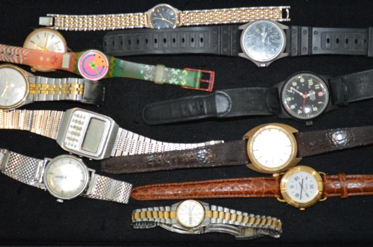 Group of wrist watches for Gulf coast coin and jewelry