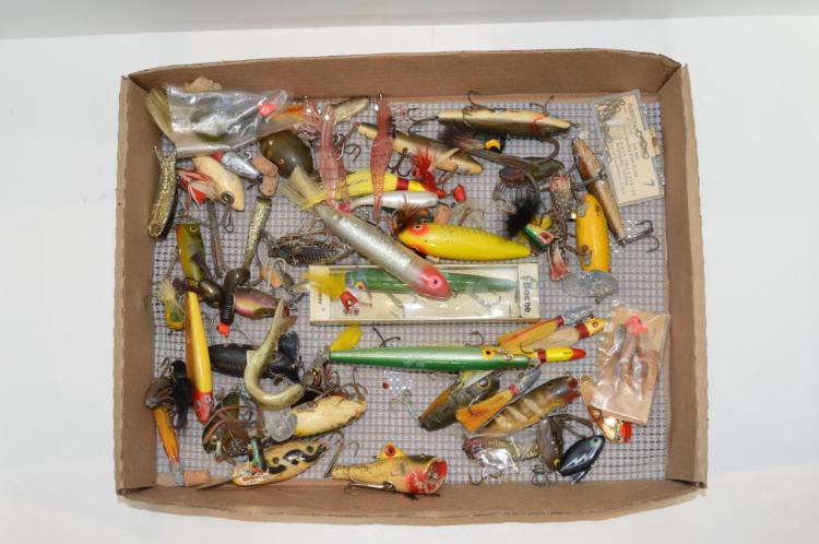 Group Of Fishing Lures