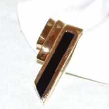 14kyg Black Onyx Necklace Slide