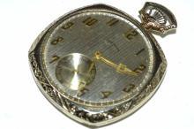 14kwg Illinois Pocket Watch