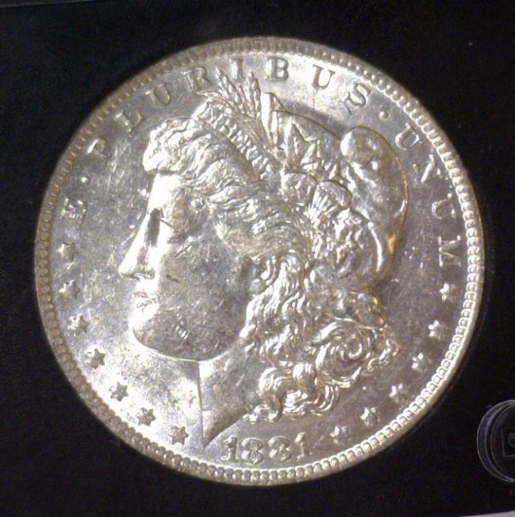 1881-O Morgan Silver Dollar BU Uncirculated UNC
