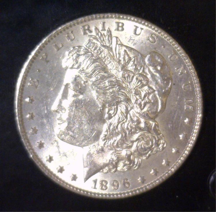 1896 Morgan Silver Dollar BU Uncirculated UNC