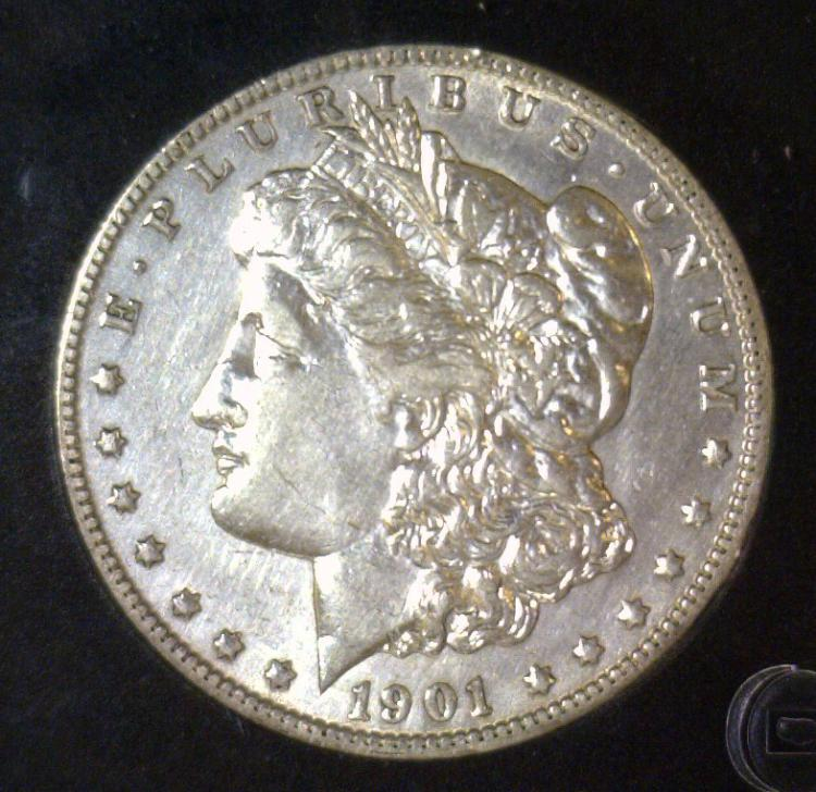 1901-O Morgan Silver Dollar BU Uncirculated UNC