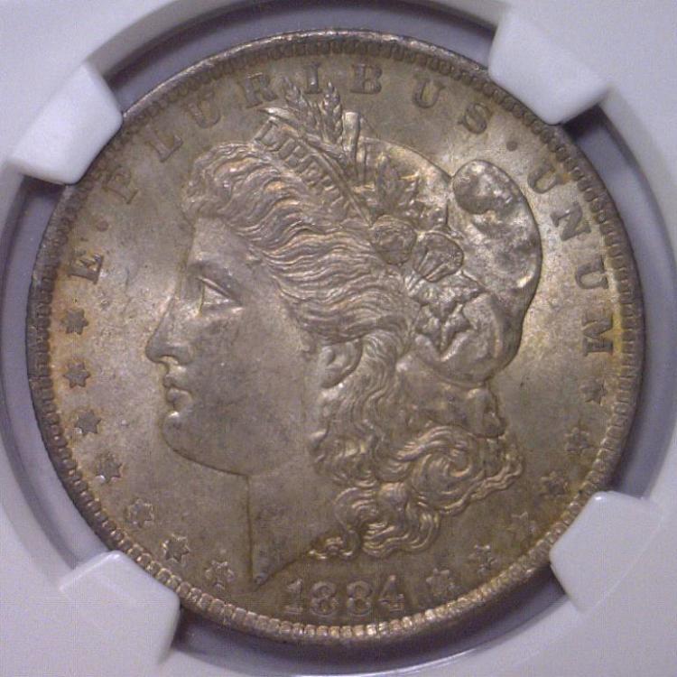 381884-O Morgan Silver Dollar NGC MS63
