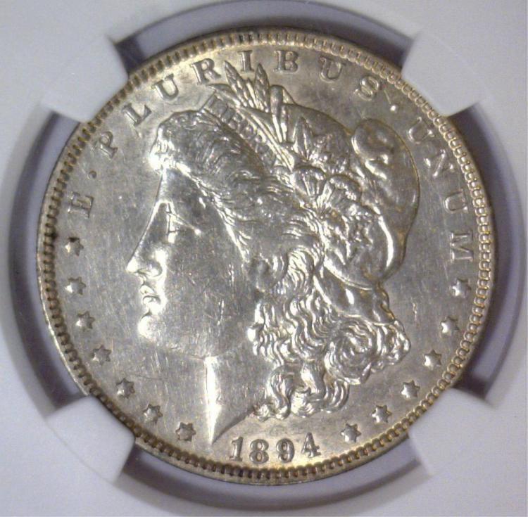1894-O Morgan Silver Dollar NGC XF Details I/C