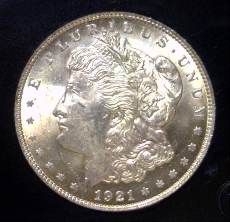 1921 Morgan Silver Dollar Uncirculated UNC