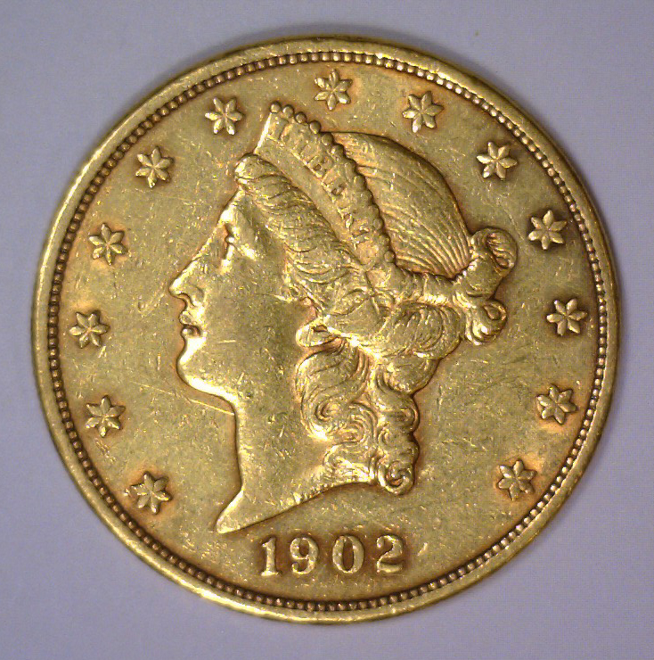1903 $20 Liberty Head Gold Double Eagle XF