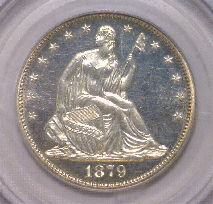 1879 Seated Liberty Half PROOF PCGS PR64 CAMEO