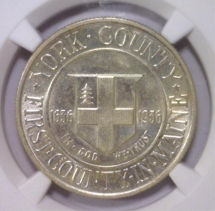 1936 York Commemorative NGC UNC Details I/C