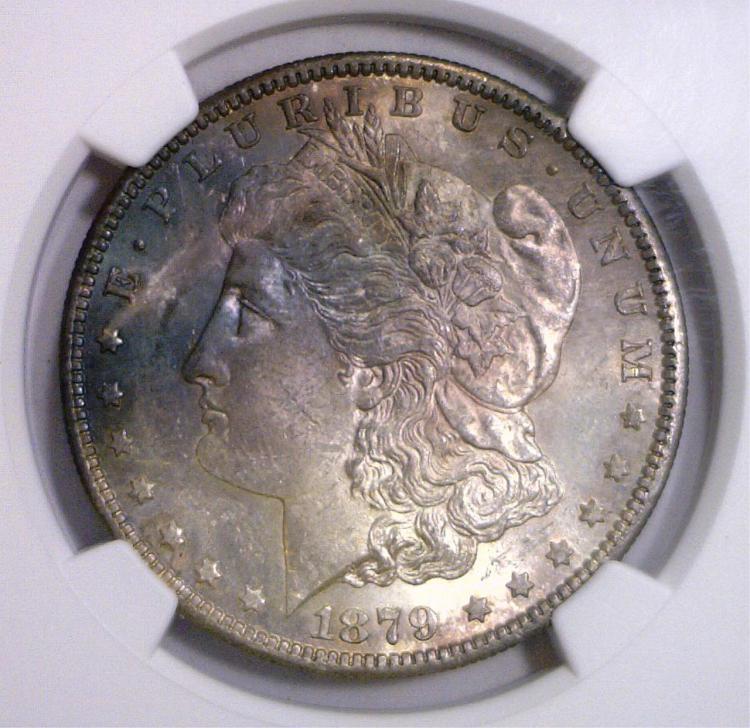 1879-S Morgan Silver Dollar NGC MS63