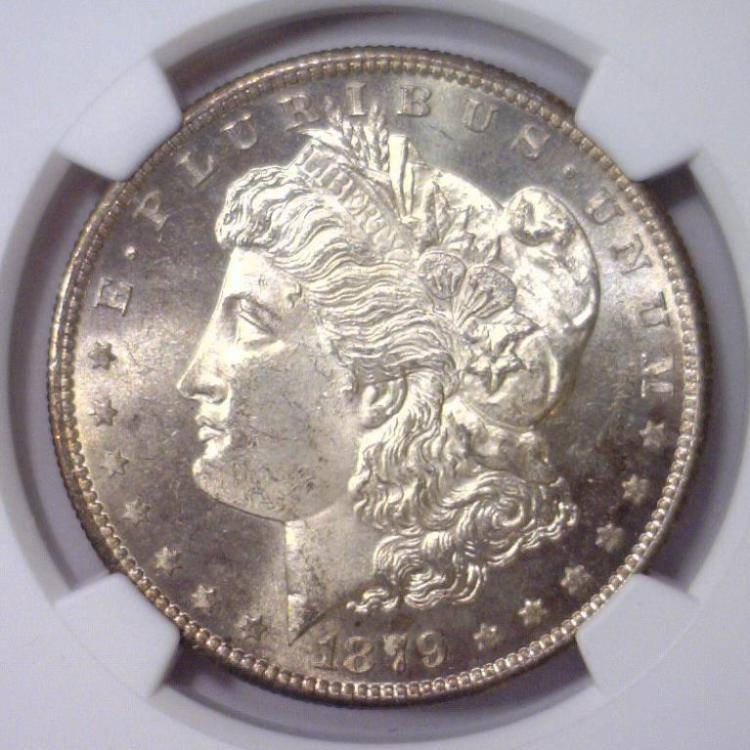 1879-S Morgan Silver Dollar NGC MS64