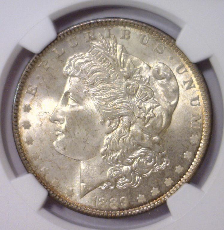 1889 Morgan Silver Dollar NGC MS64