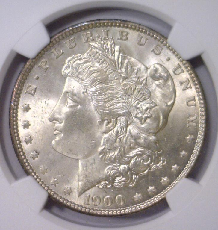 1900 Morgan Silver Dollar NGC MS64