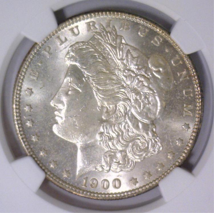 1900-O Morgan Silver Dollar NGC MS64