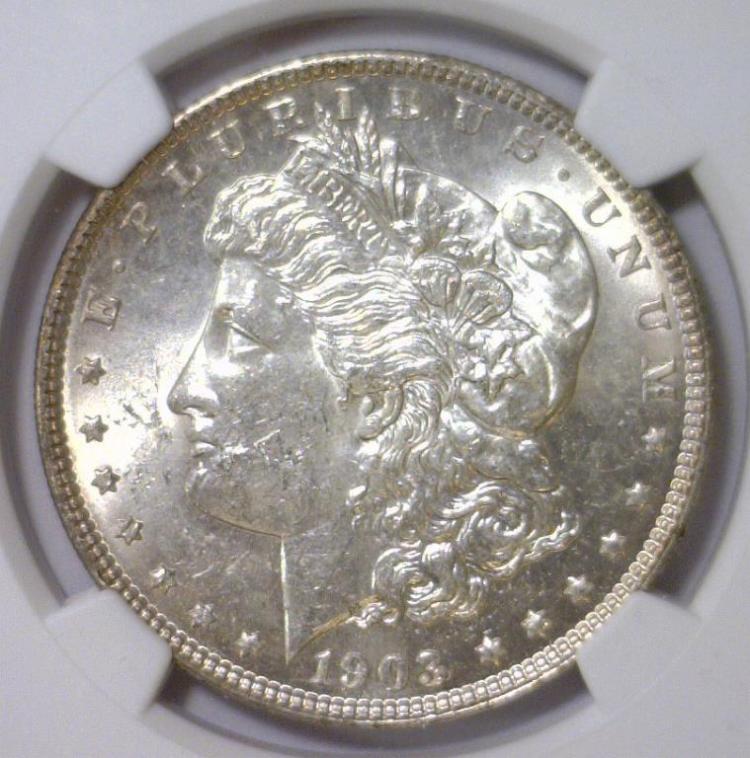 1903 Morgan Silver Dollar NGC MS62