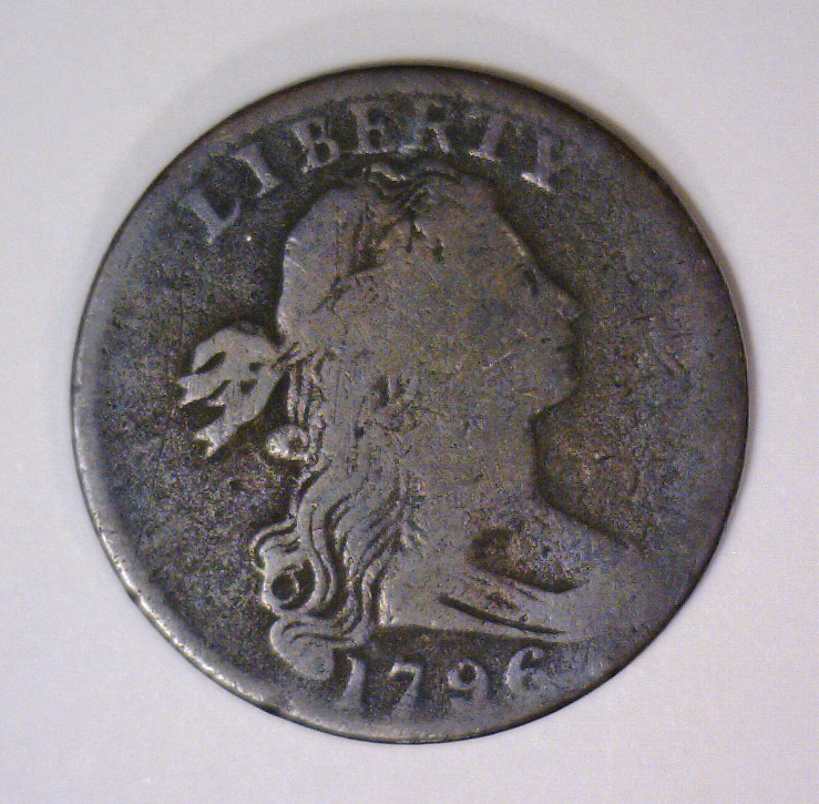 1796 Draped Bust Large Cent Good