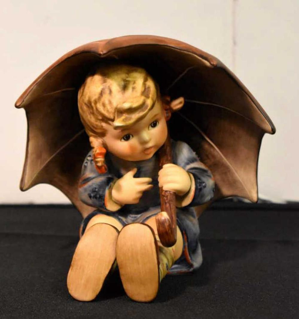 Vintage Hummel Umbrella Girl Figurine