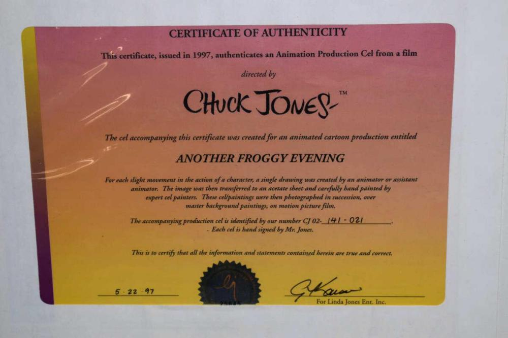 Chuck Jones Animation Cel