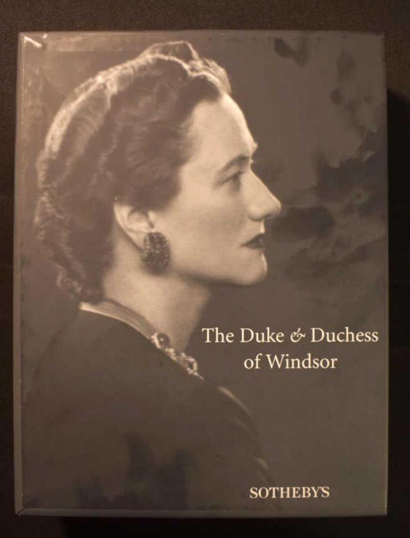 The Duke & Duchess Of Windsor Catalog