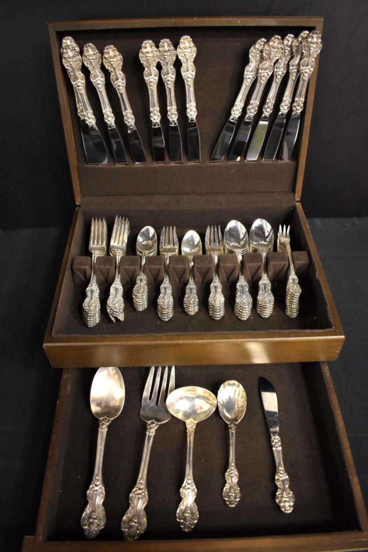 Reed & Barton Silver Plated King Francis Flatware