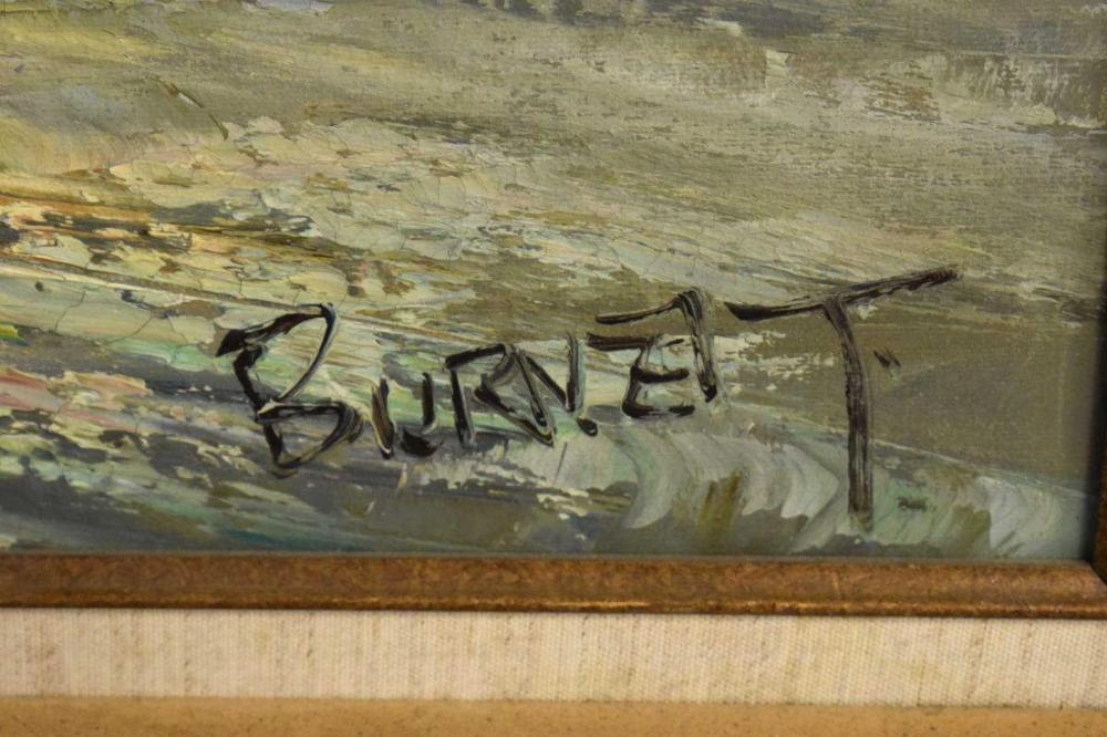 Oil On Canvas By Caroline Burnett