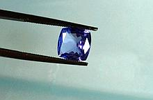 Loose 1.39ct Cushion Tanzanite
