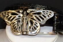 Sterling Butterfly Belt By Kieselstein Cord