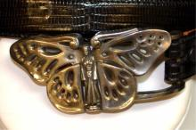 Sterling Butterfly Belt By Kieseistein Cord