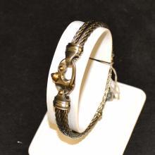 Titanium Cable Bracelet