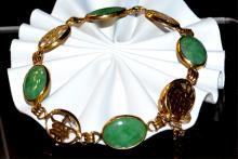 14kyg Jade Bracelet
