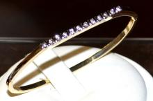 14kyg Diamond Bangle Bracelet