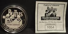 The Beatles Commemorative 1 oz. Pure silver coin