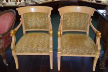 Pair Of Decorative Armchairs