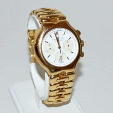 Man's 18kyg Tiffany Tesoro chronograph Watch