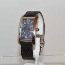 Men's 18kt white gold Cartier Tank watch