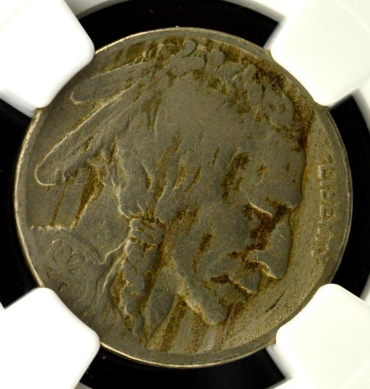 1921-S Buffalo Nickel NGC Fine Details E/D