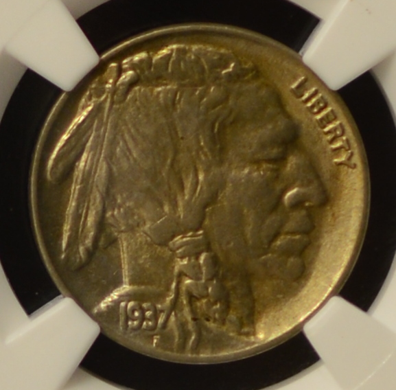 1937 Buffalo Nickel NGC MS 62